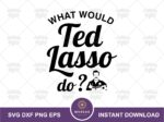 Ted Lasso Quote Keychain