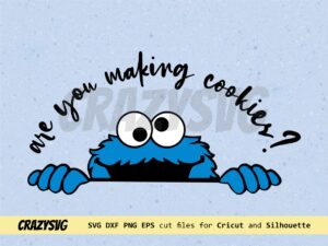 cookie monster svg for mixer