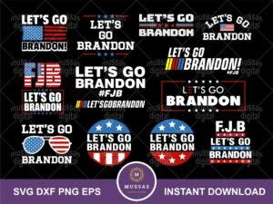 let's go brandon svg bundle